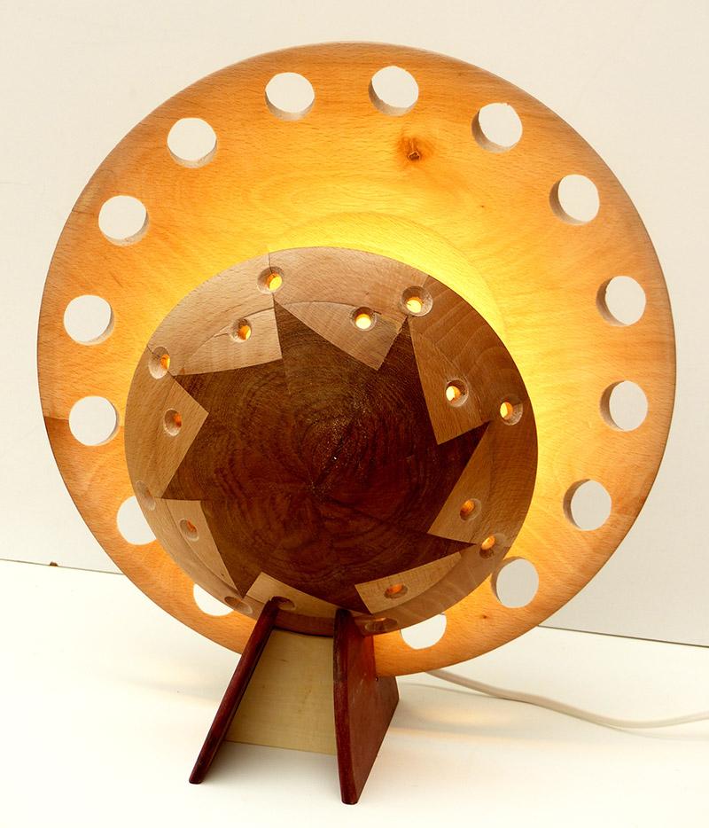 lamp dick Ellenbroek bakkerij kunsthuis