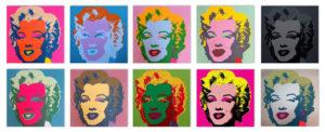 Andy Warhol Monroe De Bakkerij kunsthuis