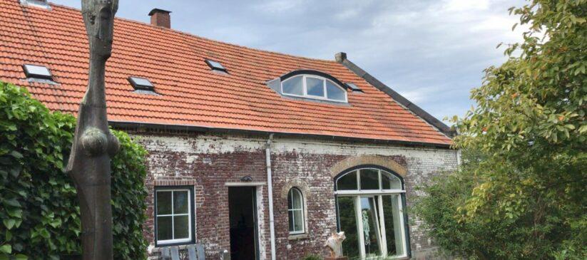 renovatie gevel De Bakkerij, kunsthuis