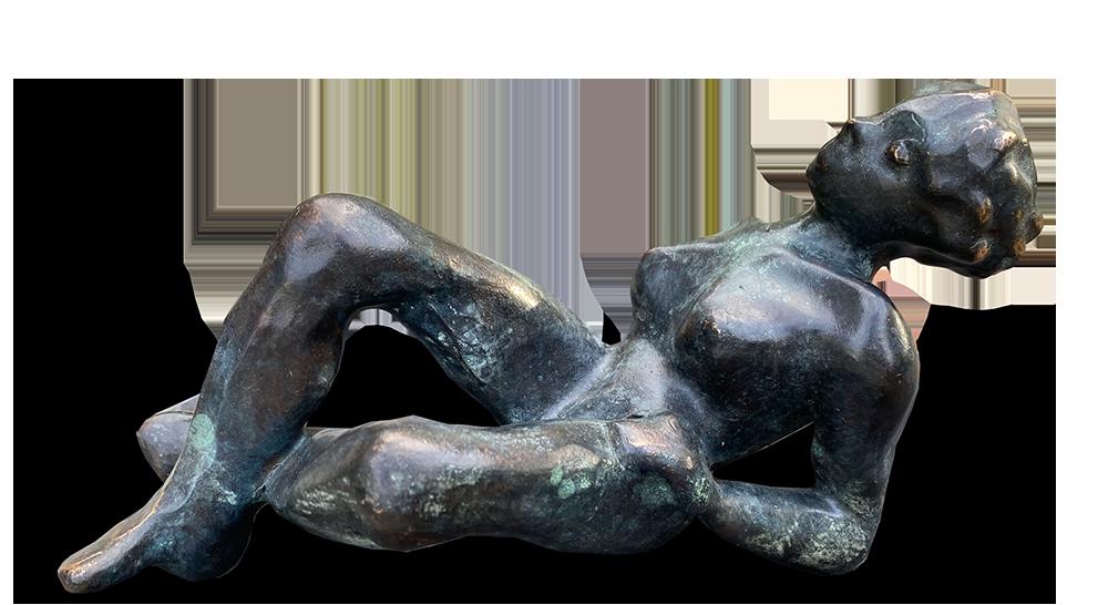 kunsthuis De Bakkerij brons Willebrord de Winter